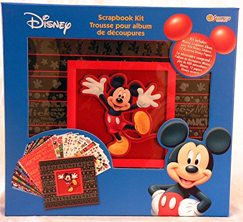 - SandyLion 12-Inch by 12-Inch Disney Mickey Mouse Bo by Ed Scrapbook Album Kit