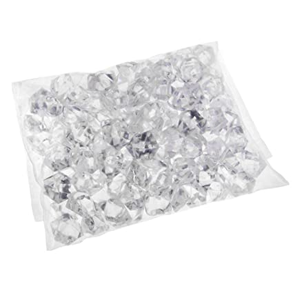 Amazon 1 Pack Translucent Clear Acrylic Ice Rocks Gems Crystal