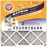 Arm & Hammer Max Allergen & Odor Reduction 12x24x1  Air and Furnace Filter, MERV 11, 4-Pack