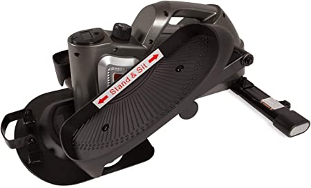 side facing jfit under desk & stand up mini elliptical