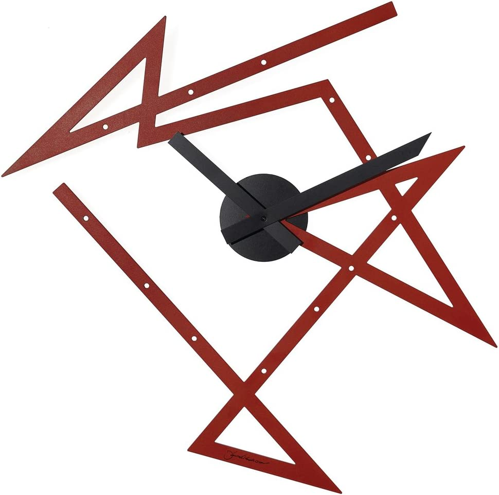Alessi Aleesi DL01 R Time Maze Wall Clock, Red