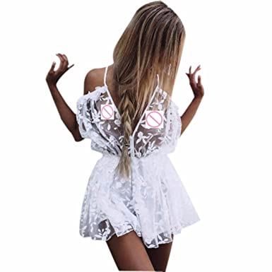 f08e0cf3f2 Amazon.com  Hot Sale! Sexy Lace Rompers