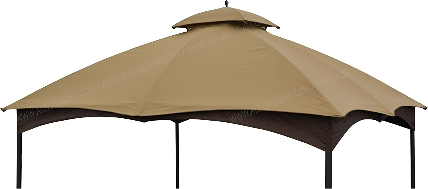 ALISUN Replacement Canopy Top for Massillon 10' x 12' Gazebo Model #L-GZ933PST