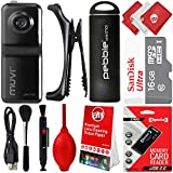 Veho Muvi HD7X Micro Body Action Security Surveillance Camcorder w/ 8 + 16GB SD Memory Card + Veho Ministick 1800mAh Portable Rechargeable Power Bank & Circuit City 8 Piece Starter Kit