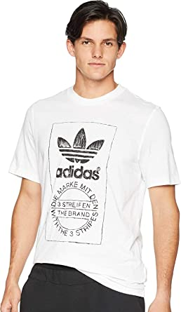 Adidas Hand Drawn T2 T Shirt Men's Clothing T Shirts skreen
