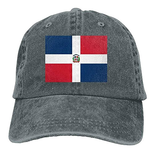NDJHEH Gorras béisbol Flag of The Dominican Republic Unisex Adult Denim Dad Baseball Hat Sports Outdr Cowboy Cap For Men and Women