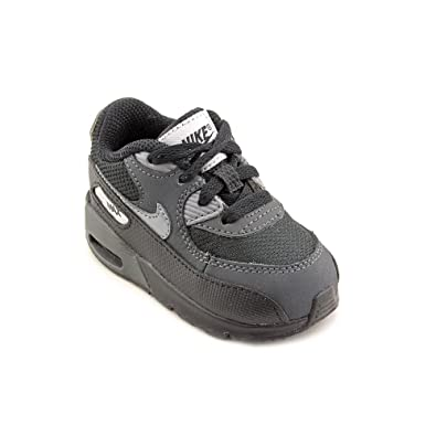 c56bcf714b62 Nike Air Max 90 (TD) Infant Baby Boys Black Sneakers Shoes 3.5 UK   Amazon.co.uk  Shoes   Bags