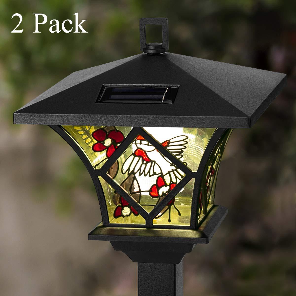 GIGALUMI Hummingbird Solar Power Lights