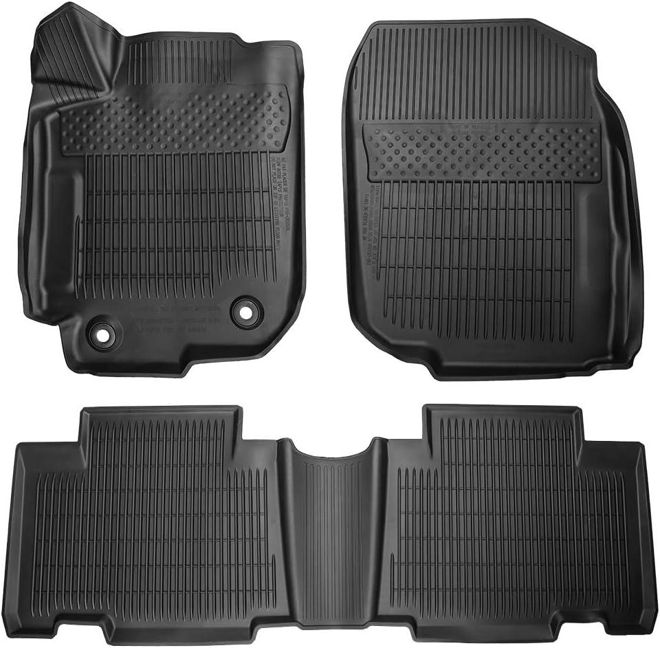 Front /& Rear Seat Custom Fit Floor Liner Carpets Cosilee Floor Mats Compatible for Toyota RAV4 2013-2018
