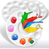 Hulameda 4ps-Paint Tray Palettes, Paint Pallet, Paint Holder, Painting Palette, Plastic Palette, Paint Tray Pallets for Kids