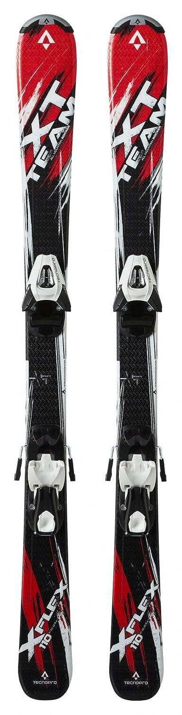 Bindungen Skisport & Snowboarding TecnoPro Skibindung ET L 75 B80 Länge 130-150 schwarz/weiß NEU