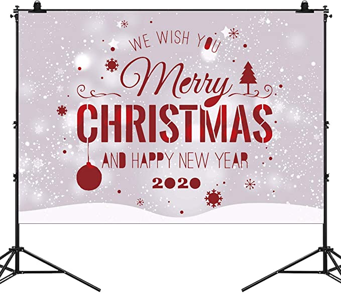 amazon com yinuoday 7x5ft merry christmas 2020 photography backdrop photo studio backgrounds festival party decoration photo studio props camera photo amazon com