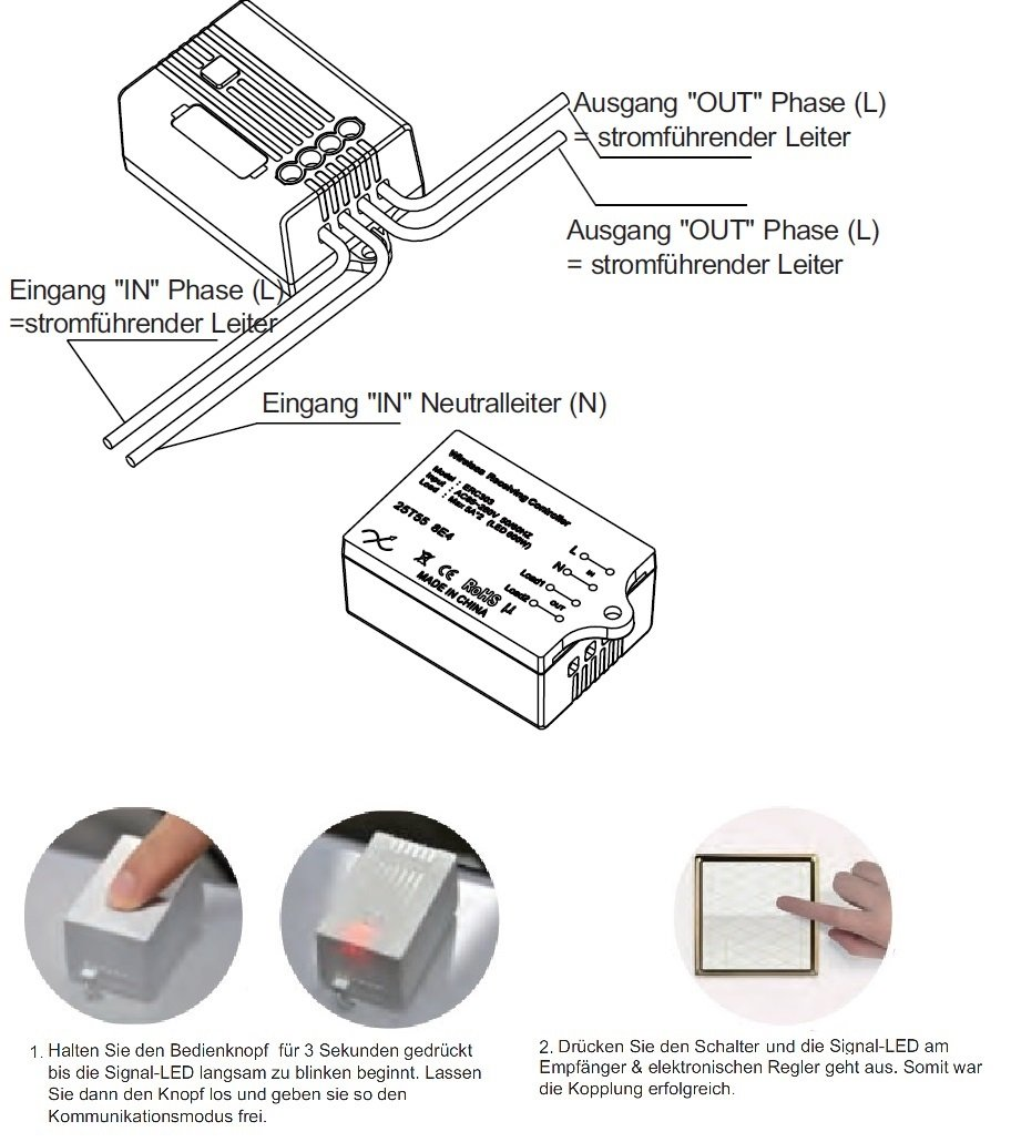 Erfreut Wie Funktioniert Ein 3 Wege Schalter Fotos - Elektrische ...