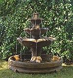HENRI STUDIO Montreux Three-Tier Fountain in Rondo Pool Review
