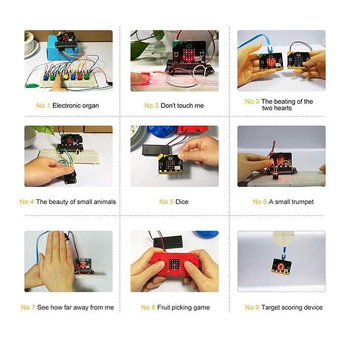 FLAMEER Kit de D/émarrage BBC Microbit Programmation Bricolage #1