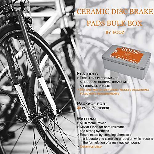 Bicycle Bike Disc Brake Pads FOR ZOOM AVID FORMULA Shimano HAYES TEKTRO MAGURA