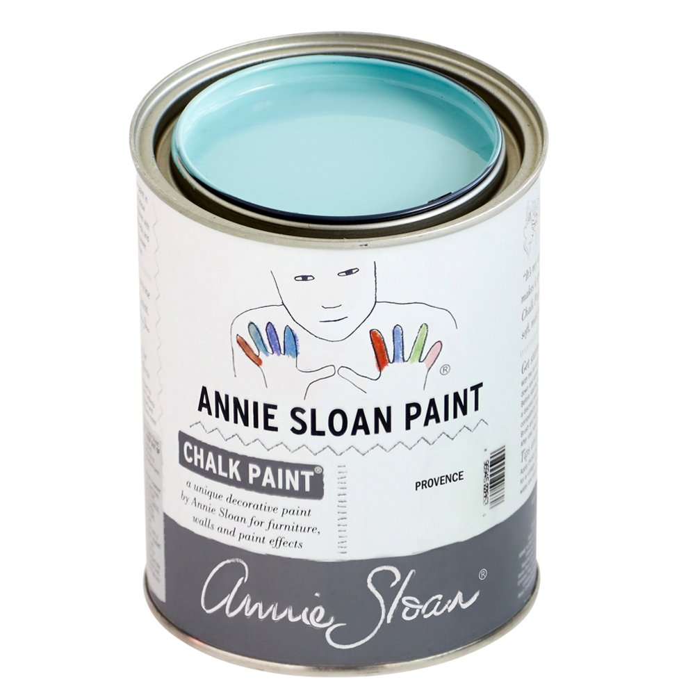 Annie Sloan Chalk Paint Provence #chalkpaint #tiffanyblue #turquoise #anniesloan #provence