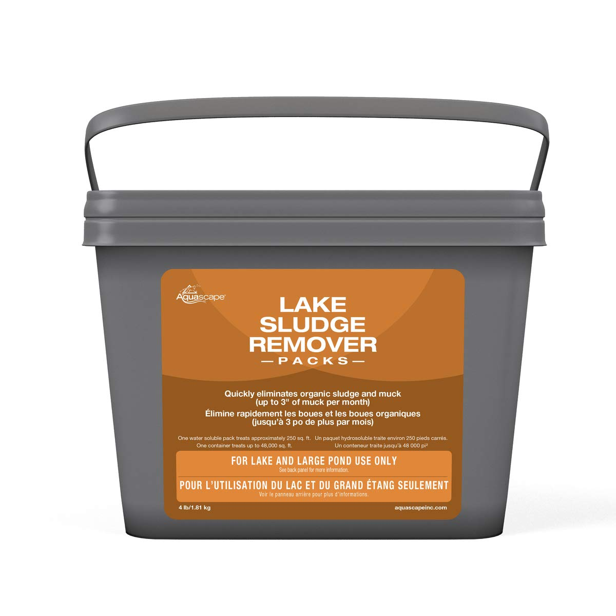 Aquascape Sludge Remover Water Treatments for Lake and Large Pond, 192 Packs | 40017 by Aquascape