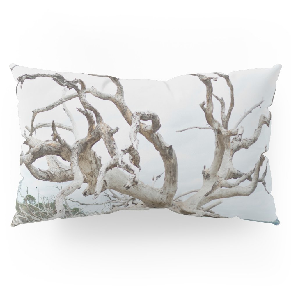 Society6 Driftwood Pillow Sham King (20'' x 36'') Set of 2
