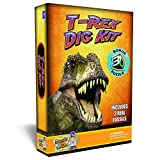 T-Rex Dinosaur Dig Kit Excavate 3 Real Dino Fossils! offers