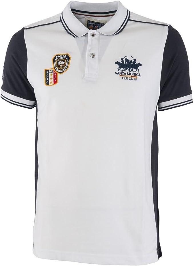 Santa Monica Polo Club Diseño Hombre Polo De Marca manga corta de ...