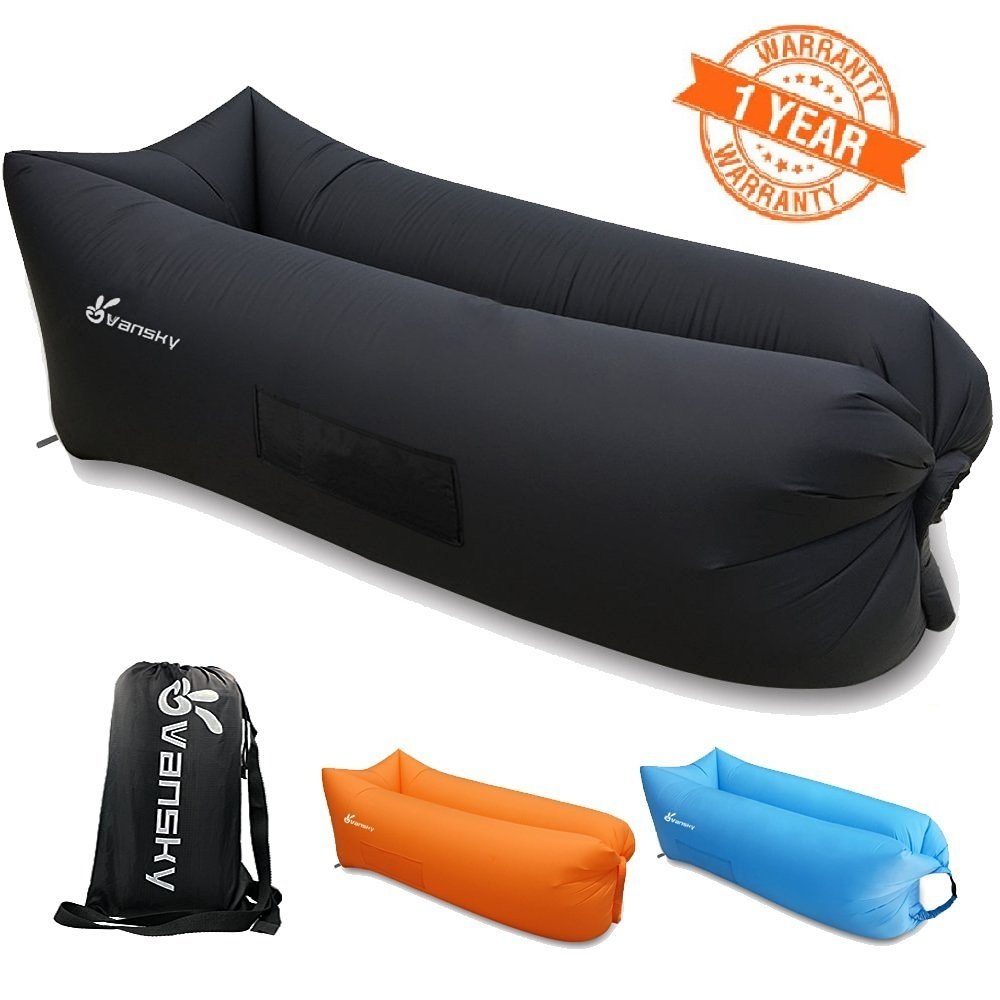 Vansky inflatable portable waterproof sleeping bag