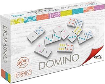 Cayro - Dominó Deco - Juego Tradicional - Juego de Mesa - Desarrollo de Habilidades cognitivas y lógico matemáticas - Juego de Mesa (3615): Juguetes y juegos - Amazon.es