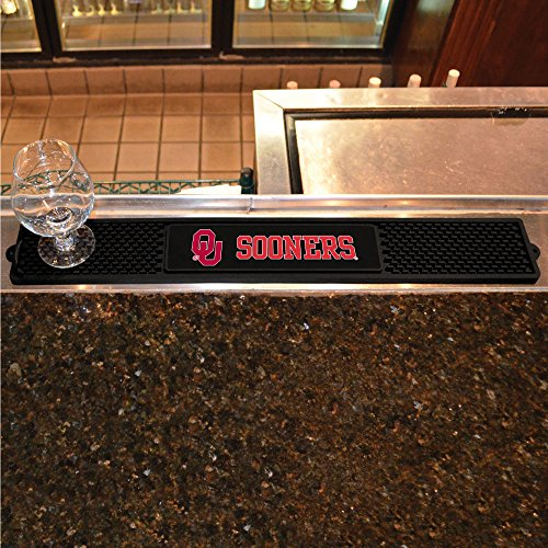 Oklahoma Sooners Pub Table (Fanmats restaurant Bar Hotel decorative Accessories University of Oklahoma Collage Sports Logo Team Support Drink Mat 3.25x24)