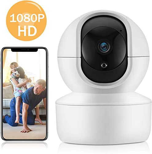 Kasa Spot Indoor Camera, 1080P HD Smart Wifi Security Camera 2-Pack Night Vision, Motion Detection, Works with Google Assistant and Alexa KC100P2 Renewed