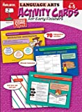 TEC61410 Activity Cards for Early Finishers : Language Arts (Grades 4-5), The Mailbox Books Staff, 1612764878