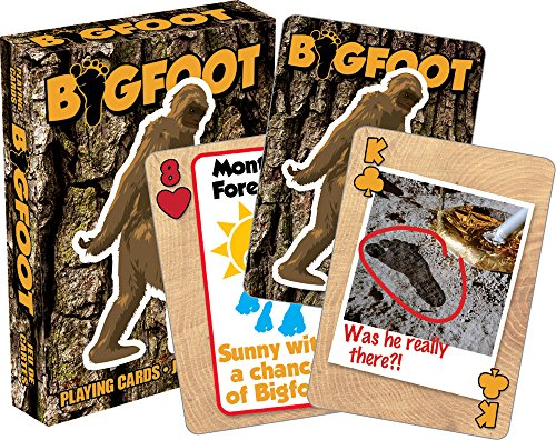 Aquarius Bigfoot Playing Cards