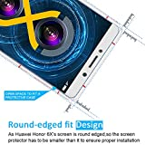 [2 Pack] iVoler [Tempered Glass] Screen Protector for Huawei Honor 6X, [0.2mm Ultra Thin 9H Hardness 2.5D Round Edge] with Lifetime Replacement Warranty