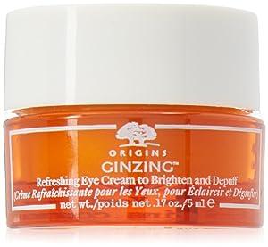 Origins Ginzing Refreshing Eye Cream to Brighten and Depuff 0.17oz/5ml (Packaging May Vary)