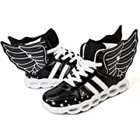 ONEKE LED Light Up Shoes Running Shoes for Kids Boys Girls 4 Colors Flashing Wings Sneakers