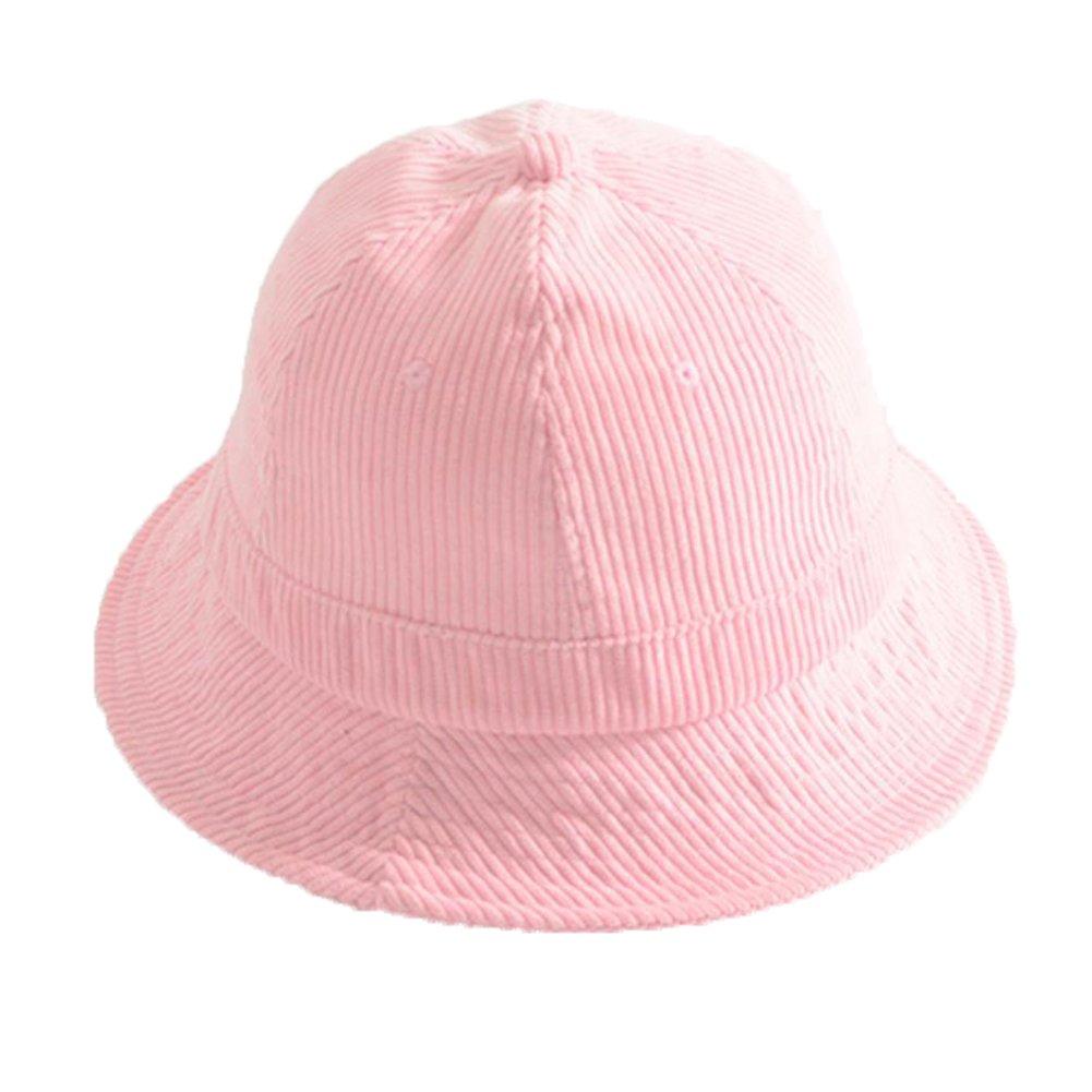 Nikgic Solid color fresh corduroy Basin hat Foldable Visor Felt Cloth Soft  Basin Cap 56-58cm 1Pcs  (Black ) 5e240130de3c
