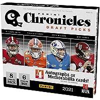 $269 » 2021 Panini Chronicles Draft Picks Football HOBBY box (6 pks/bx)