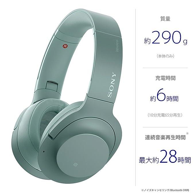 h.ear on 2 Wireless NC WH-H900N Horizon Greenの写真05。おしゃれなヘッドホンをおすすめ-HEADMAN(ヘッドマン)-