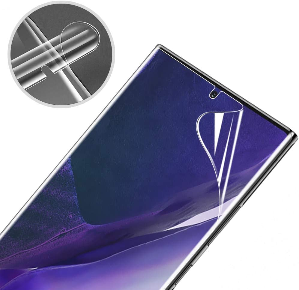 3 Pack Screen Protector for Galaxy Note 20 Ultra 5G, Fingerprint ...
