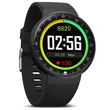 MorePro Smart Watch, 9 Mode Sport Watch IP68 Fitness Tracker with DIY Clock Face Full Touch Screen, 7/24 Activity Tracker Heart Rate Monitor Sleep ...