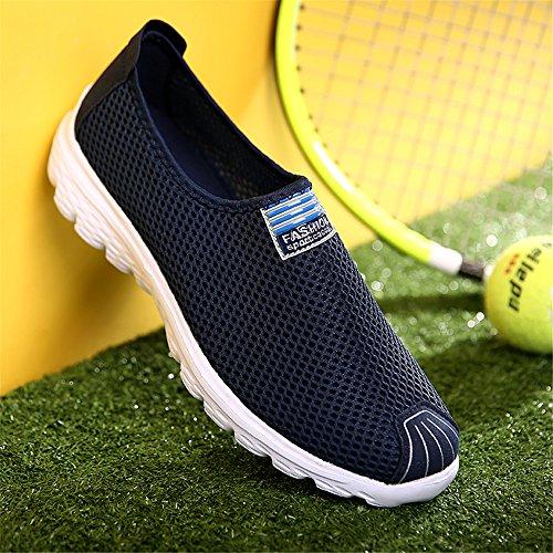 Lger Rsille Confortable Chaussures En Ks555 Respirant Casual Hommes Fzdx Bleu xnqYptw0F