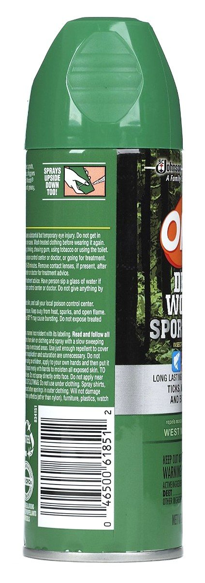 Off! Deep Woods Sportsman Insect Repellent 6 Oz (3 Pack) by SC Johnson (Image #2)