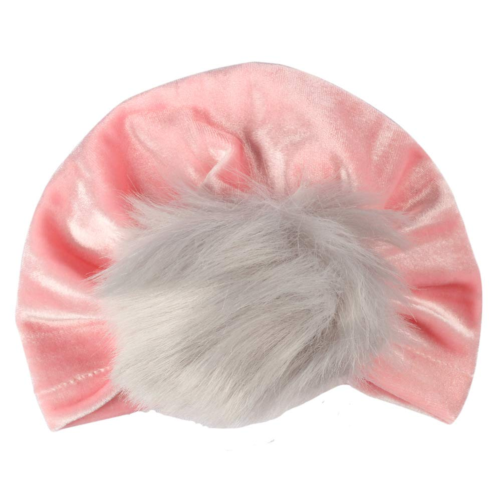 Upsmile Newborn Hospital Hats for Girls Baby Turban Headwraps Infant Beanie Hat