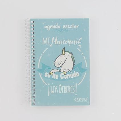 Casterli- Colección Inspire - Agenda Escolar 2018/19, día página, tamaño A6