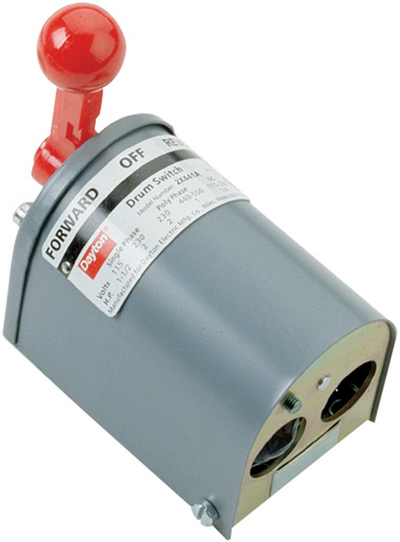Coxreels 15210 General Purpose Speed Controller Reversing Switch für 1185 Series seits Crank und Motor Driven Hose Reels Ea Motor, 115 Vac