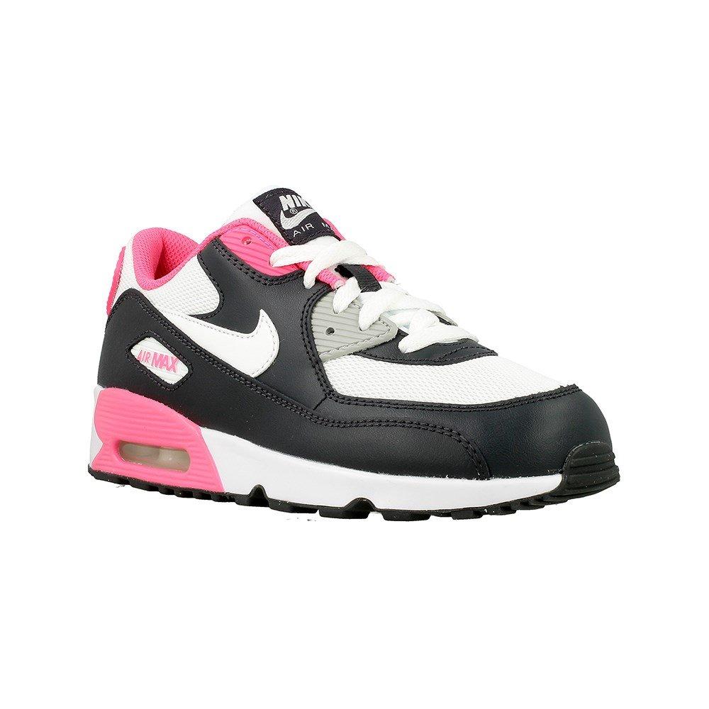 Nike - Air Max 90 Mesh PS - 833341001 - Farbe: Rosa-Schwarz-Weiß - Größe: 30.0