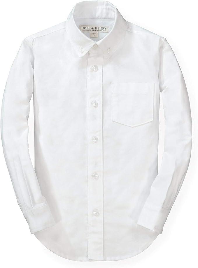 Hope /& Henry Boys Linen Button Down Shirt