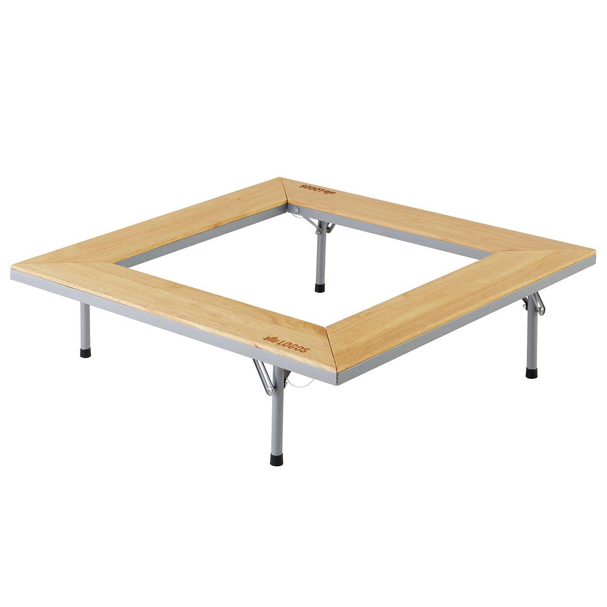 ロゴス(LOGOS) テーブル ウッド囲炉裏テーブル EVO 木製 ピラミッドグリル対応 キャリーバッグ付き   B0078S69D4