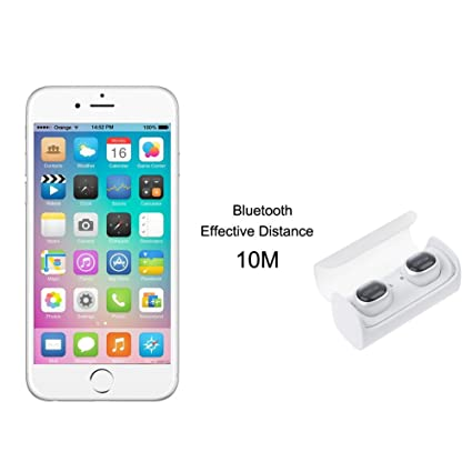 Asiright QCY Q29 Mini TWS Bluetooth 4.1 Auriculares intraurales 3D inalámbricos con micrófono: Amazon.es: Electrónica