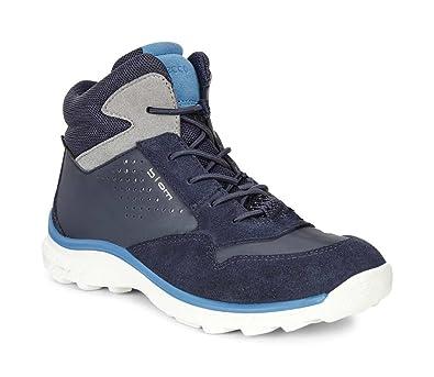 908ebce4013786 Ecco Kinder Schuhe Biom Trail Kids Wasserdicht Gore-Tex Blau