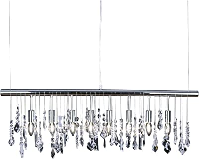 Vaxcel PD30137SN Milano 1 Ligh Mini Pendant in Satin Nickel with